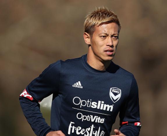 本田圭佑・メルボルン・ヴィクトリーFC